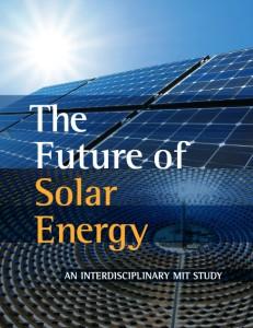MIT Future of Solar Energy report cover