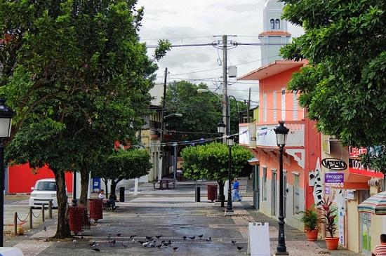 Street in Puerto Rico