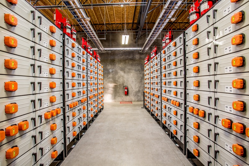 Energy storage at Portland General Electric's Salem power plant
