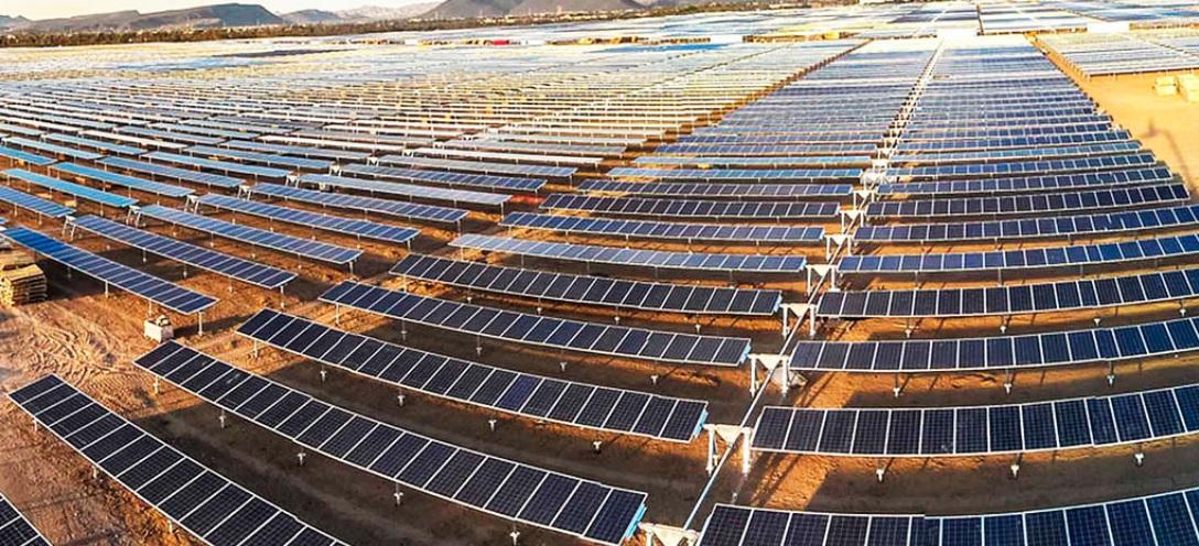 Solar panels in Baja