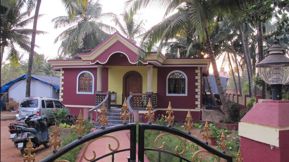 House in Goa, India