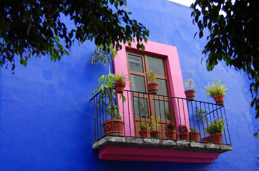 Window in Puebla, Mexico