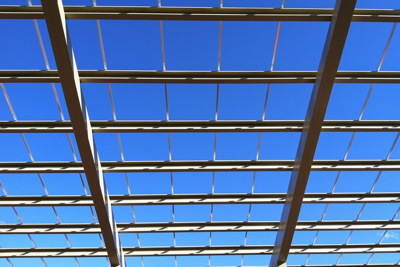 Solar canopy in Maryland
