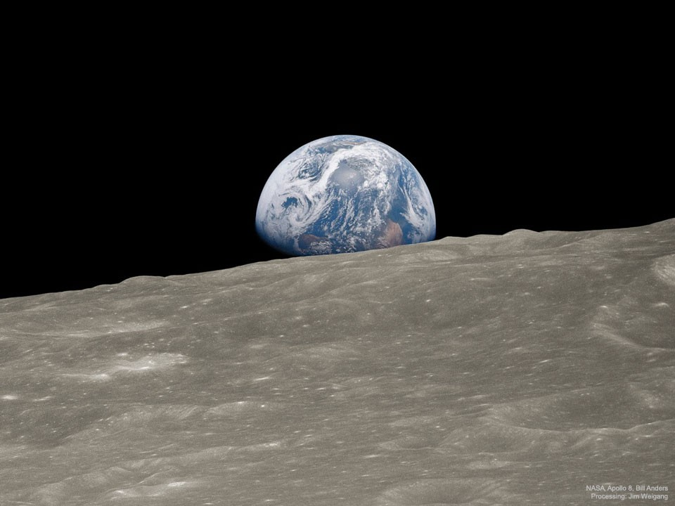 Earthrise remastered