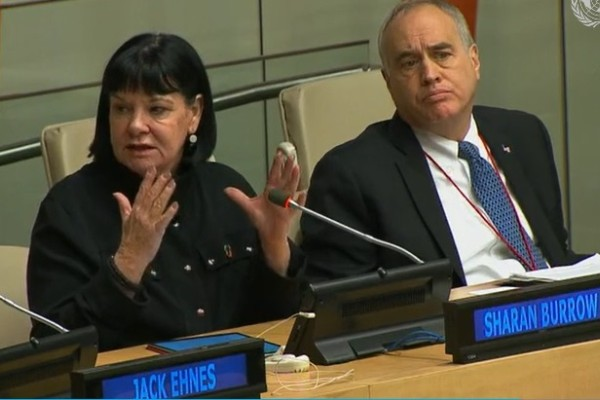 Sharan Burrow at the Investor Summit on Climate Risk