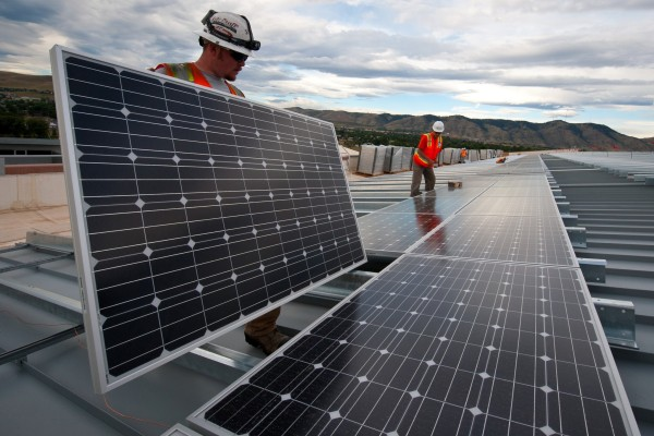 Rooftop solar installers in CO